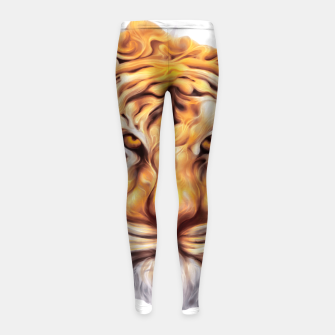 Miniaturka Ink Tiger Girl's leggings, Live Heroes
