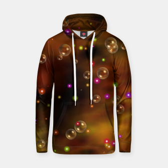 Thumbnail image of Golden Bubbles In The Mist Of Gold Clouds Cotton hoodie, Live Heroes