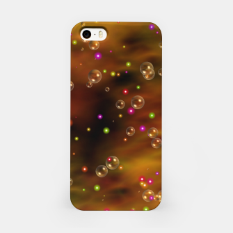 Thumbnail image of Golden Bubbles In The Mist Of Gold Clouds iPhone Case, Live Heroes