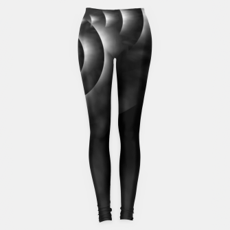 Thumbnail image of Convoluted Forms Of The Particle Ring Tunnel Leggings, Live Heroes