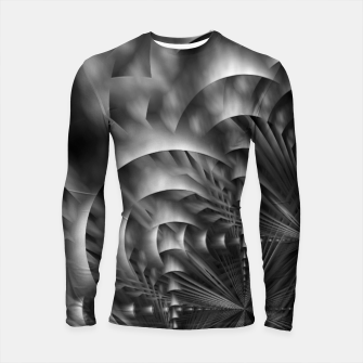 Thumbnail image of Convoluted Forms Of The Particle Ring Tunnel Longsleeve rashguard , Live Heroes