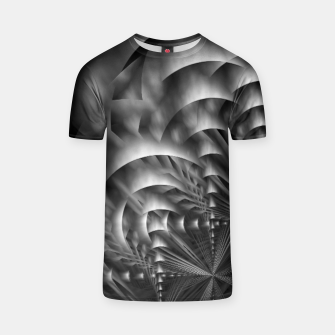 Thumbnail image of Convoluted Forms Of The Particle Ring Tunnel T-shirt, Live Heroes