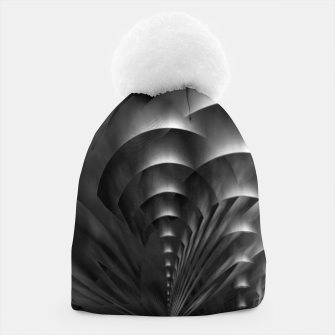 Thumbnail image of Convoluted Forms Of The Particle Ring Tunnel Beanie, Live Heroes