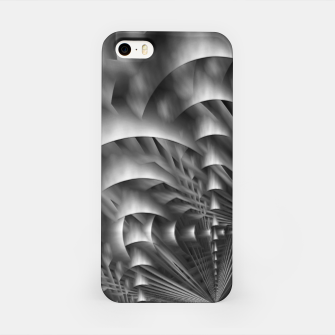 Thumbnail image of Convoluted Forms Of The Particle Ring Tunnel iPhone Case, Live Heroes