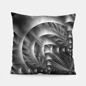 Thumbnail image of Convoluted Forms Of The Particle Ring Tunnel Pillow, Live Heroes