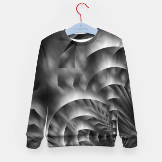 Thumbnail image of Convoluted Forms Of The Particle Ring Tunnel Kid's sweater, Live Heroes