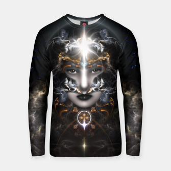 Thumbnail image of Goddess Of The Black Moon V3 Cotton sweater, Live Heroes