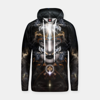 Thumbnail image of Goddess Of The Black Moon V3 Cotton hoodie, Live Heroes