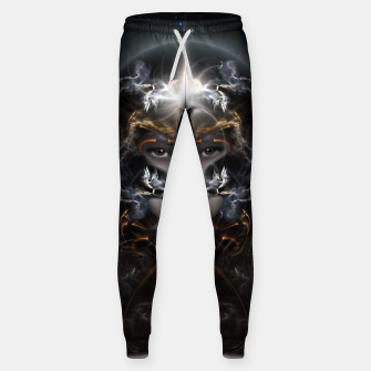 Thumbnail image of Goddess Of The Black Moon V3 Cotton sweatpants, Live Heroes