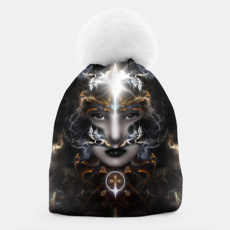 Thumbnail image of Goddess Of The Black Moon V3 Beanie, Live Heroes