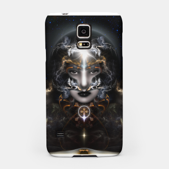 Thumbnail image of Goddess Of The Black Moon V3 Samsung Case, Live Heroes