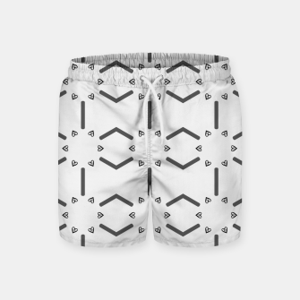 Miniature de image de Heart pattern Swim Shorts, Live Heroes