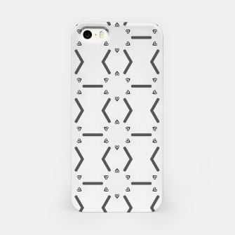 Miniature de image de Heart pattern iPhone Case, Live Heroes