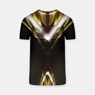 Thumbnail image of Carved Tubular Spears T-shirt, Live Heroes