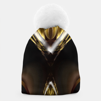 Thumbnail image of Carved Tubular Spears Beanie, Live Heroes