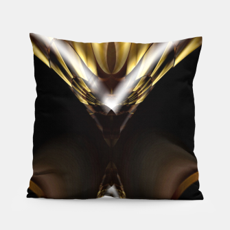 Thumbnail image of Carved Tubular Spears Pillow, Live Heroes