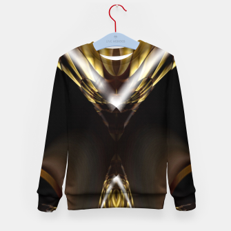 Thumbnail image of Carved Tubular Spears Kid's sweater, Live Heroes