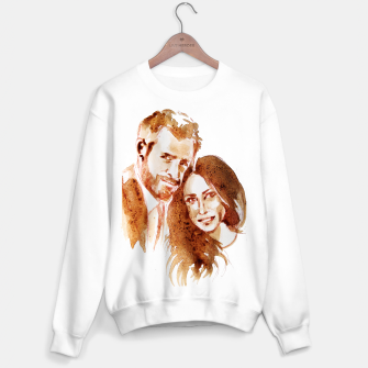 Thumbnail image of Meghan Harry coffee wedding ctr by yulia a korneva Sweater regular, Live Heroes