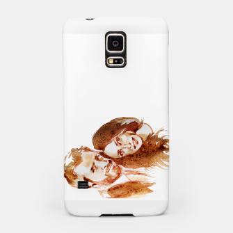 Thumbnail image of Meghan Harry coffee wedding lft by yulia a korneva Samsung Case, Live Heroes