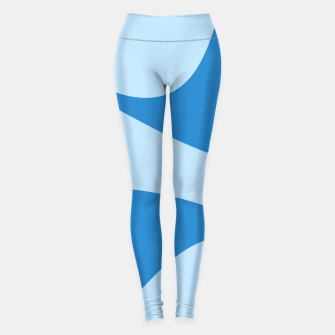 Miniature de image de Abstract blue Leggings, Live Heroes