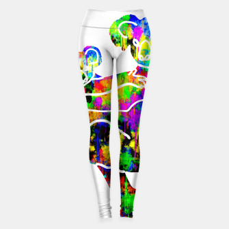 Miniature de image de gxp colorful watercolor koala bear - bunter wasserfarben koala bär Leggings, Live Heroes