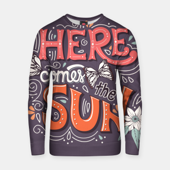 Miniatur Here Comes The Sun 002 Cotton sweater, Live Heroes