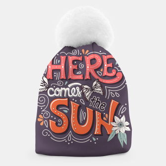 Thumbnail image of Here Comes The Sun 002 Beanie, Live Heroes