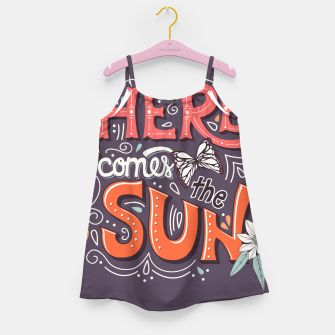 Miniatur Here Comes The Sun 002 Girl's dress, Live Heroes