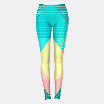 Miniature de image de Geometric Love I Leggings, Live Heroes