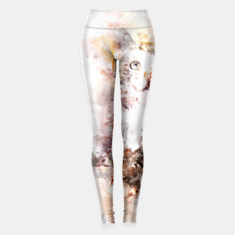 Miniature de image de gxp watercolor mixed kitty - wasserfarbe mix kätzchen Leggings, Live Heroes