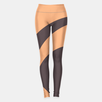 Miniature de image de Abstract mindcenter design Leggings, Live Heroes
