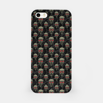 Thumbnail image of Skulls Motif Pattern iPhone Case, Live Heroes