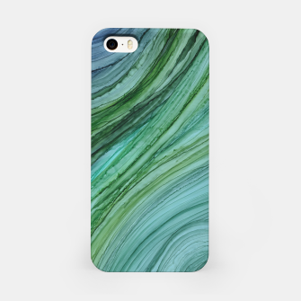 Miniature de image de Green Agate Geode Slice iPhone Case, Live Heroes