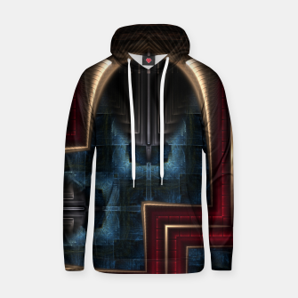 Thumbnail image of Mirror Of Stone Cotton hoodie, Live Heroes
