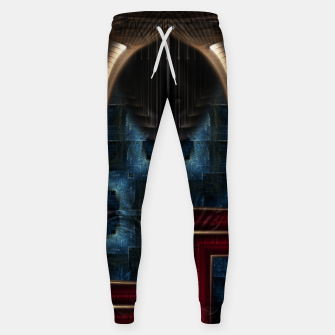 Thumbnail image of Mirror Of Stone Cotton sweatpants, Live Heroes