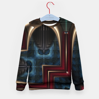 Thumbnail image of Mirror Of Stone Kid's sweater, Live Heroes