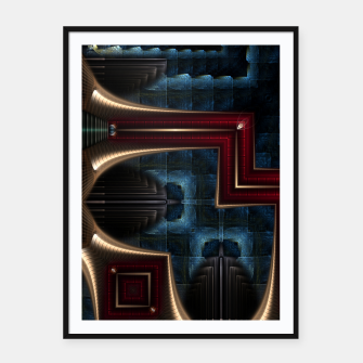 Thumbnail image of Mirror Of Stone Framed poster, Live Heroes