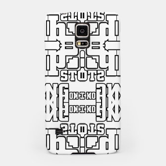 Thumbnail image of TOS Typography Abstract Samsung Case, Live Heroes