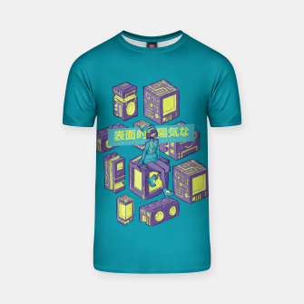 Miniature de image de superficially cheerful T-shirt, Live Heroes