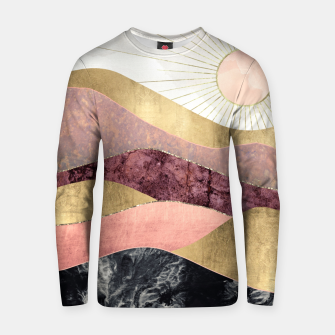 Thumbnail image of Blush Sun Cotton sweater, Live Heroes