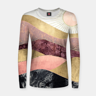 Thumbnail image of Blush Sun Woman cotton sweater, Live Heroes