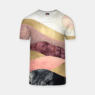 Thumbnail image of Blush Sun T-shirt, Live Heroes
