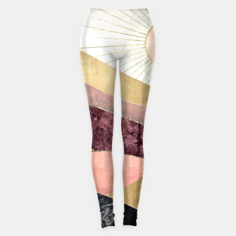 Thumbnail image of Blush Sun Leggings, Live Heroes