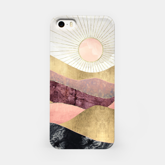 Thumbnail image of Blush Sun iPhone Case, Live Heroes