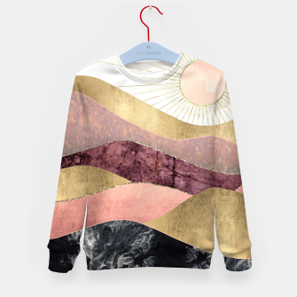 Thumbnail image of Blush Sun Kid's sweater, Live Heroes