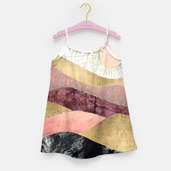 Thumbnail image of Blush Sun Girl's dress, Live Heroes