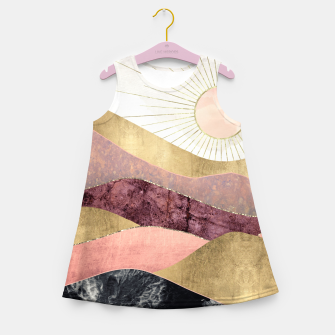 Thumbnail image of Blush Sun Girl's summer dress, Live Heroes
