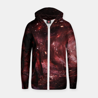 Red Pipe Dream Universal Surfer Girl Zip up hoodie imagen en miniatura