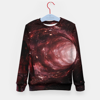Red Pipe Dream Universal Surfer Girl Kid's sweater imagen en miniatura
