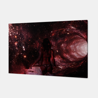 Red Pipe Dream Universal Surfer Girl Canvas imagen en miniatura